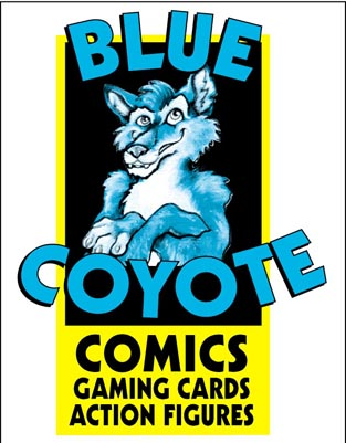 Blue Coyote Comics, Cards and Collectables
